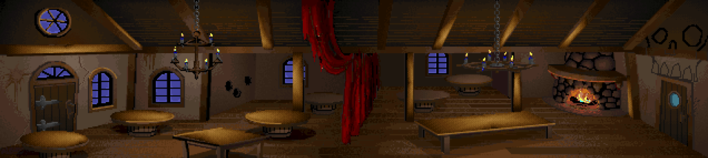 "The ""Scumm Bar"" from Monkey Island"